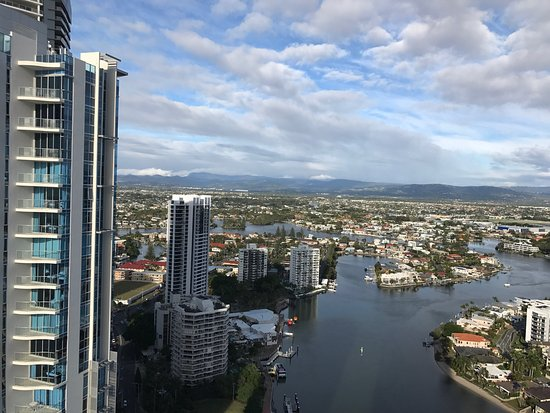 Window View - Mantra Towers of Chevron Surfers Paradise Photo