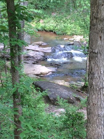 Royston, GA: Little waterfall