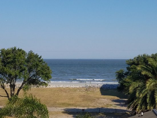 The Sea Gate Inn: View from the room