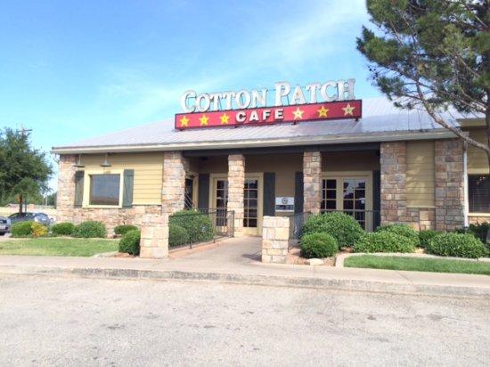 Abilene, تكساس: Outside afterwards