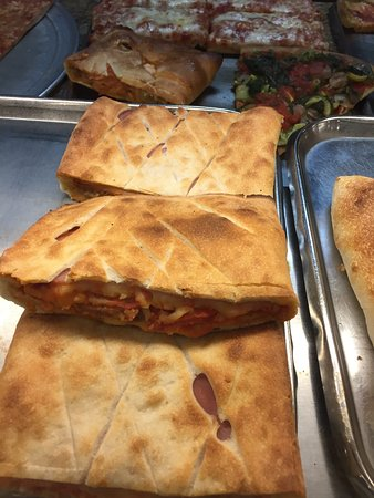 "Little Neck, NY: ""stuffed"" pizza slices -- a Centre specialty"