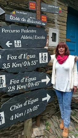 Arganil, Portugal: Várias indicações de percursos pedestres.