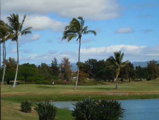 Ewa Beach, Hawaje: ゴルフコースの眺め