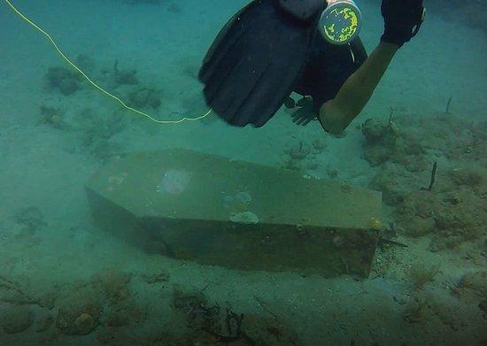 Rincon, Porto Rico: Greyhouse Reef memorial.