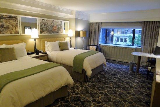Grand 2 Double Beds Room 430 Picture Of Loews Regency New York Hotel New York City Tripadvisor