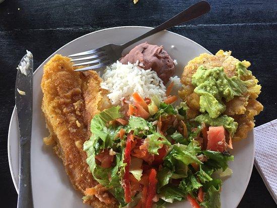Princesa de la Luna Eco Lodge: Great home cooked meals!