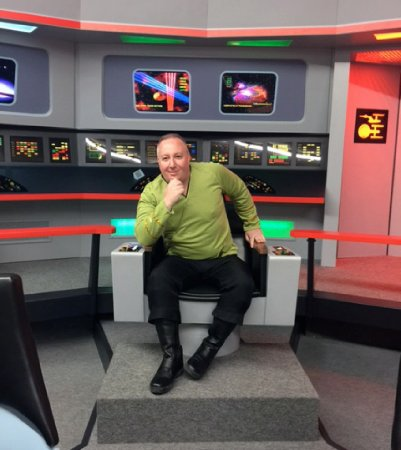 ‪‪Ticonderoga‬, نيويورك: In the Captain's Chair, May 2017 Star Trek Set Tour‬