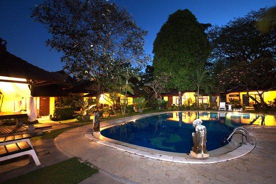 Puri Dalem Hotel Sanur: Pool view
