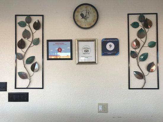 Shamrock, TX: Certificates