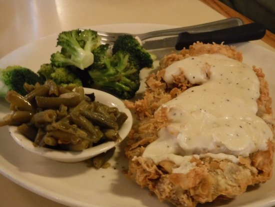 ‪‪Plainview‬, تكساس: chicken fried steak‬