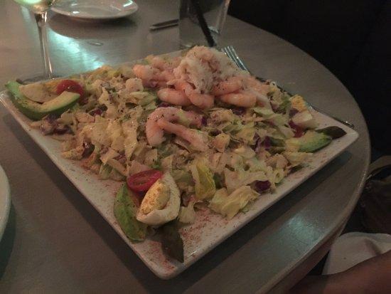 Lure Fish House: Shrimp Louie Salad