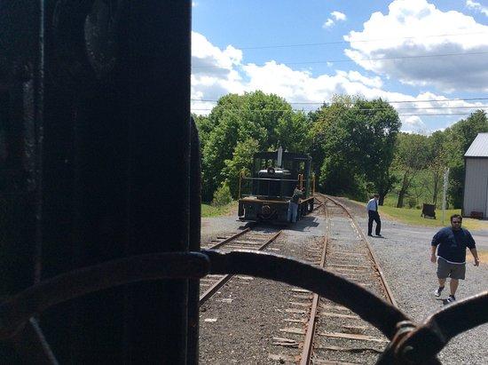 Kempton, PA: WK&S Railroad