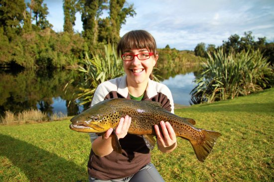 Fish for renowned Lake Moeraki brown trout