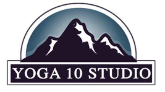 Courtenay, كندا: Yoga 10 Studio Logo