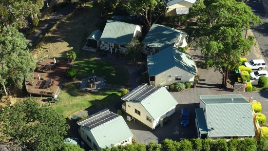 Avoca, Austrália: Drone shot of the property