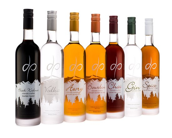 Loveland, CO: distillery products