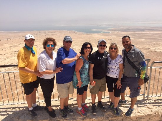 Rent a Guide Israel Tours: Our friends and Meni on our tour of Israel