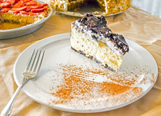Railroad Park Resort Dinner House and Lounge: Our Award Winning Cheesecake
