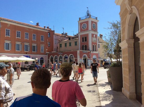 Town Clock: The popularity of this town to tourists, well worth the visit!