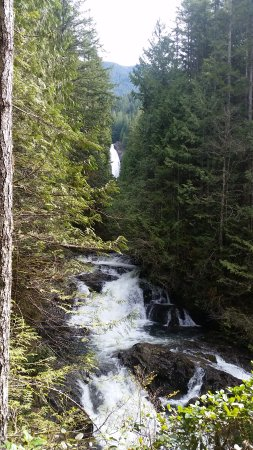Gold Bar, WA: Wallace Falls, lower view