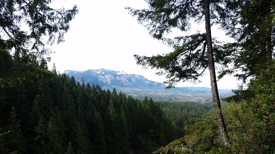 Gold Bar, WA: view west of Wallace Falls