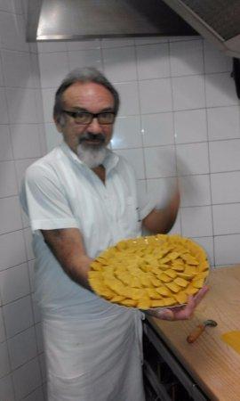 Fabbrico, Ιταλία: tortelli di zucca