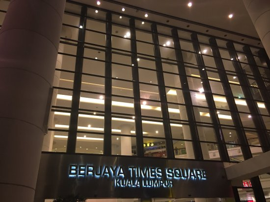 how to go to berjaya times square from kl sentral