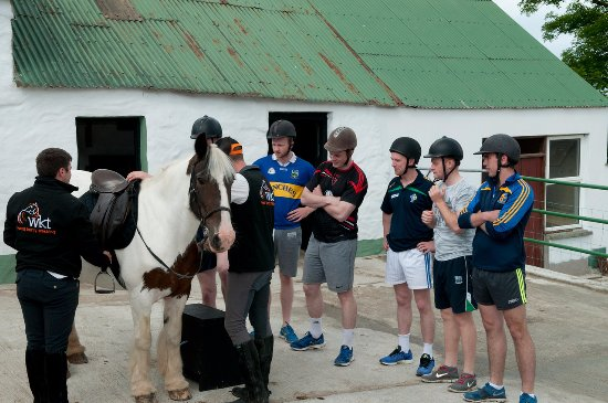 Camp, Ireland: Getting ready for the trek