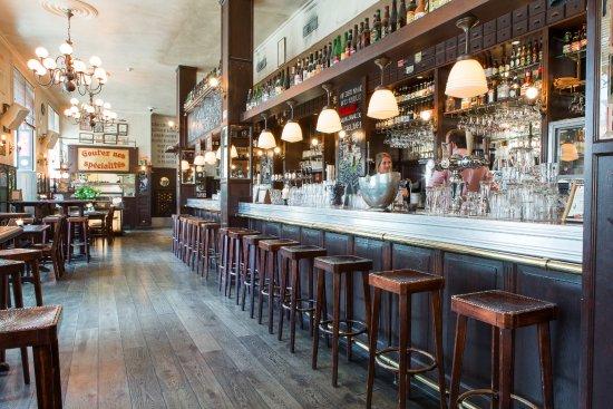 Belgisch Biercafé Olivier: Interieur