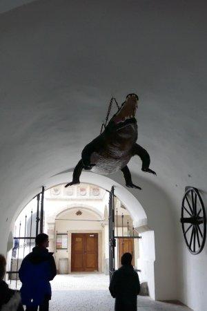 Brno, Republik Ceko: Jedna z atrakcji starówki