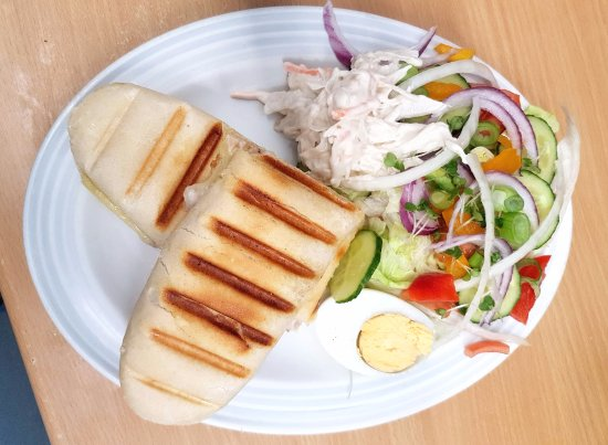 Amlwch, UK: Try out our tasty panini.