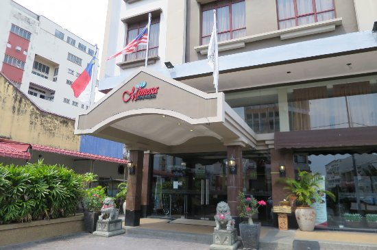Mimosa Hotel : 外観