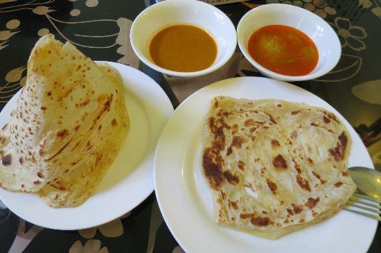 Sarang Mas Vacation Home: 朝食で用意していただいたロティチャナイ
