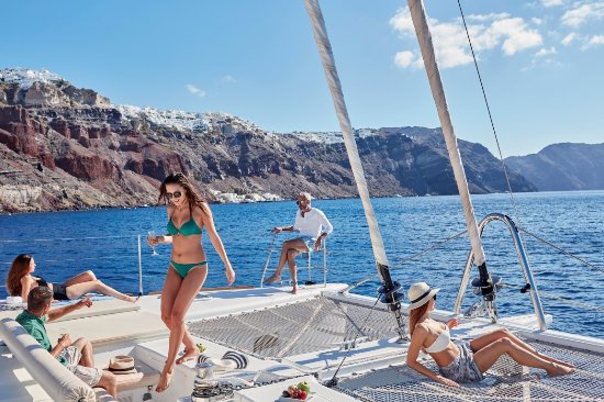 Sunset Oia Sailing Cruises
