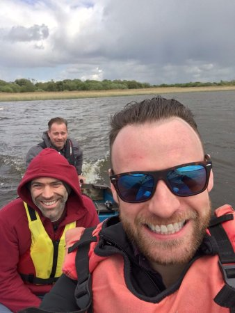 Lisnaskea, UK: Out on the boat