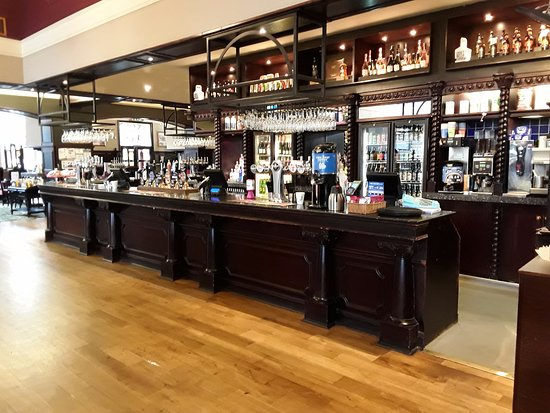 Greenock, UK: This is the bar area