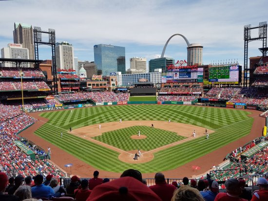 Section 250 DR row - Cubs @ Cards - Picture of Busch Stadium, Saint ...