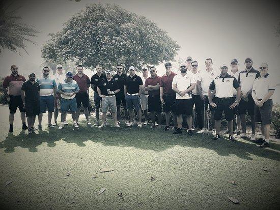 The Address Montgomerie Dubai Golf Course : The Dubai Strugglers 2017
