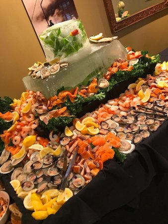 Ludlow, VT: Raw Bar is a customer favorite for special holiday brunches!