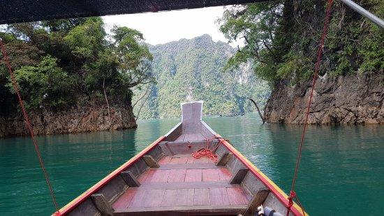 Khao Sok National Park: C'est beau non ?