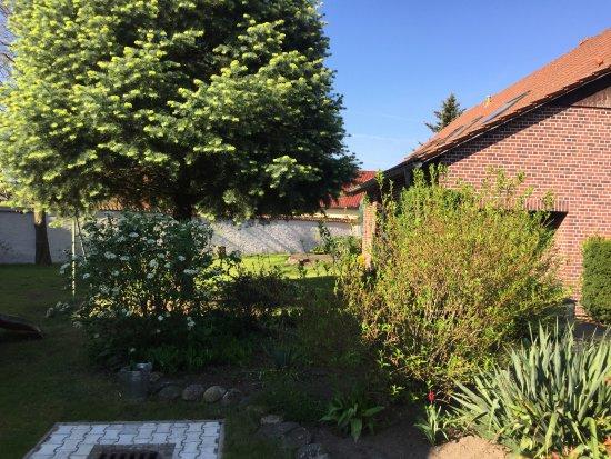 Doberlug-Kirchhain, Germany: Garten des Hauses Eingangsbereich