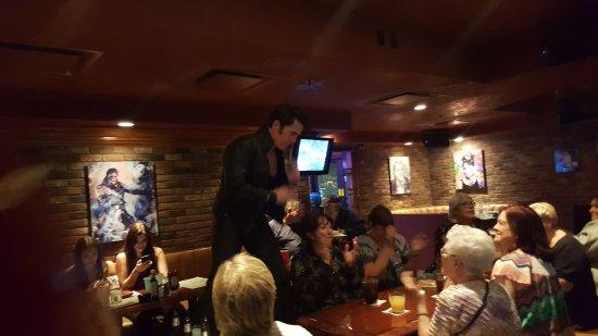 Ellis Island Casino & Brewery: Gary Benson as Elvis