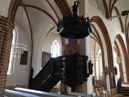 Vor Frue Kirke w Nyborg - ambona.