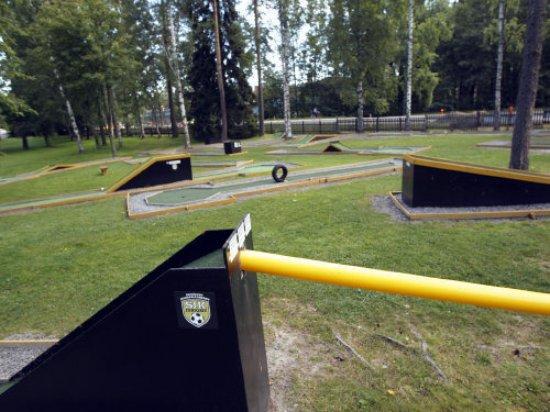 Seinajoki, Finlandia: Kuva Minigolf-radasta