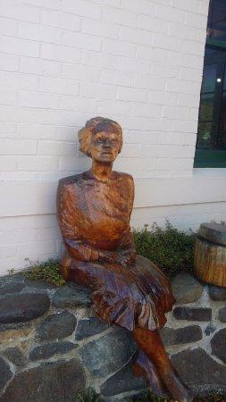 Geeveston, Australia: Jessica a local