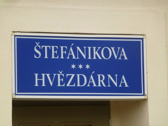 Štefánikova hvězdárna: Гвездарня