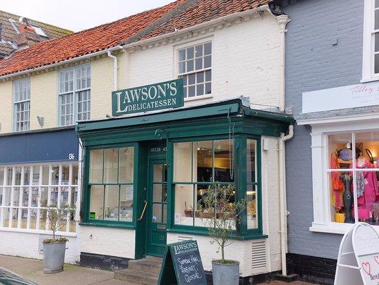 Lawson's Deli, Aldeburgh High Street.