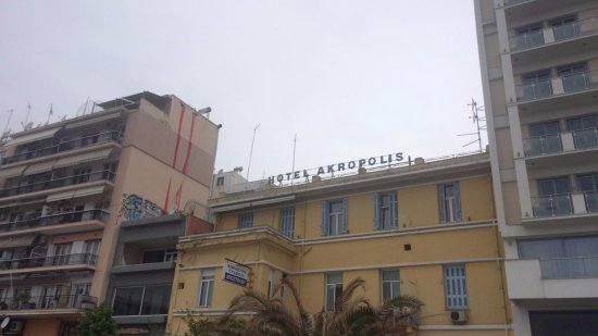 Window View - Picture of Hotel Akropolis, Kavala - Tripadvisor