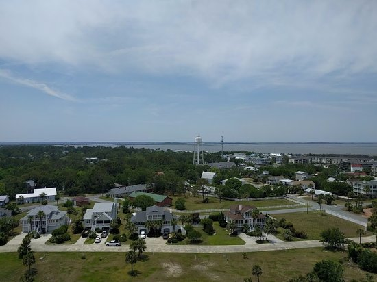 Tybee Island Lighthouse Museum: A view from the Lighthouse!