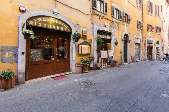 La Sagrestia - Ristorante Pizzeria: Vista esterna
